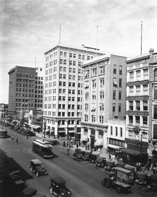 Wichita downtown